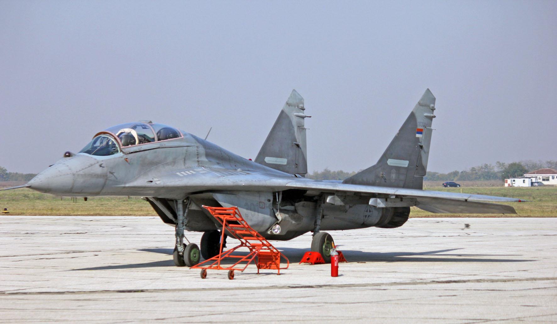 MiG-29 UB - Srdan Popovic