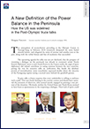 A New Definition of the Power Balance in the Peninsula—How the US was sidelined in the Post-Olympic truce talks (T 987)
