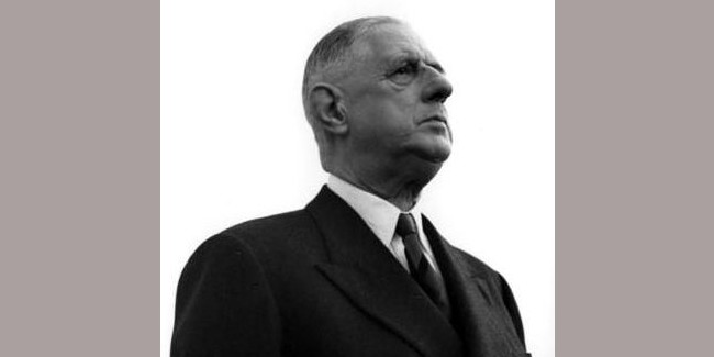 Charles de Gaulle Photo : Archives fédérales allemandes
